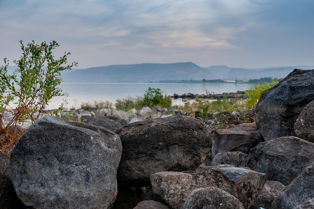 Берег моря Галилейского