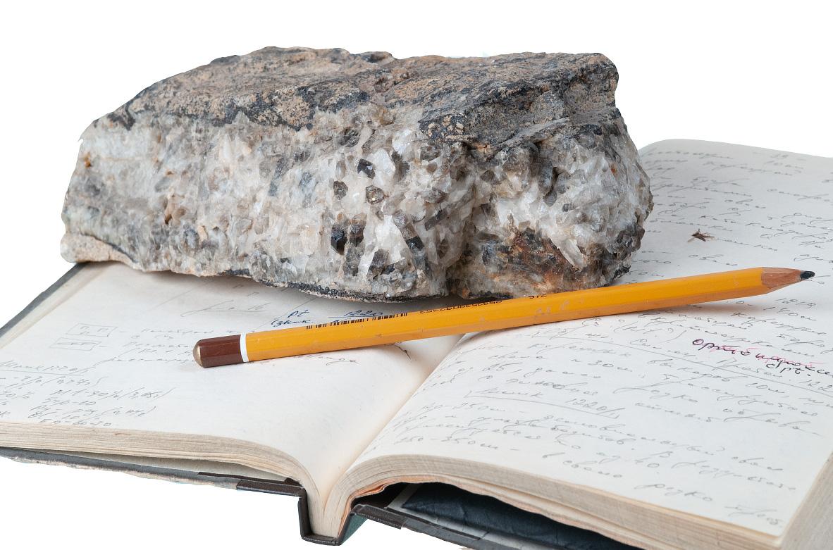 Образец оловянной руды месторождение Бутугычаг