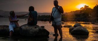 Израиль, море Галилейское