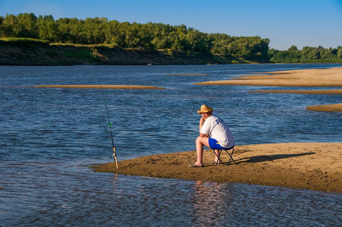 Рыбак на Ахтубе