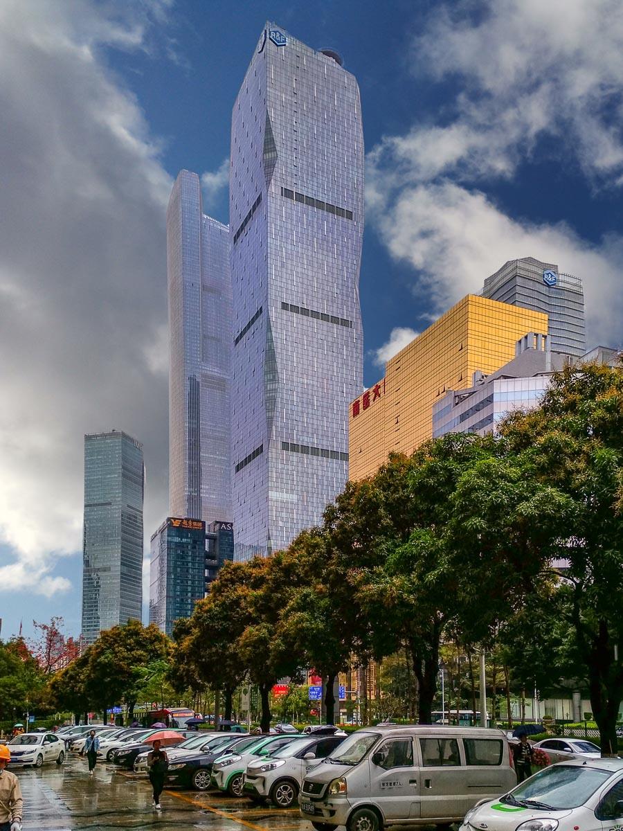 Фото зданий в Гуанчжоу