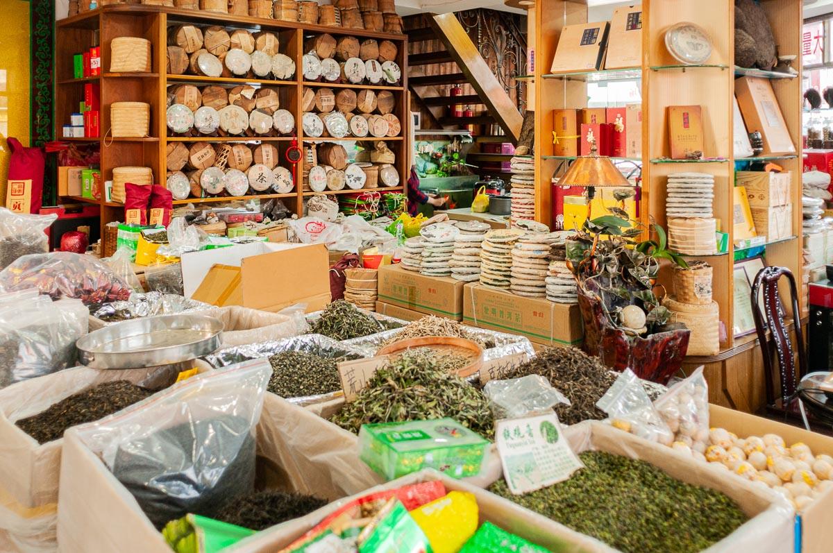 Фотопутешествие по чайному рынку