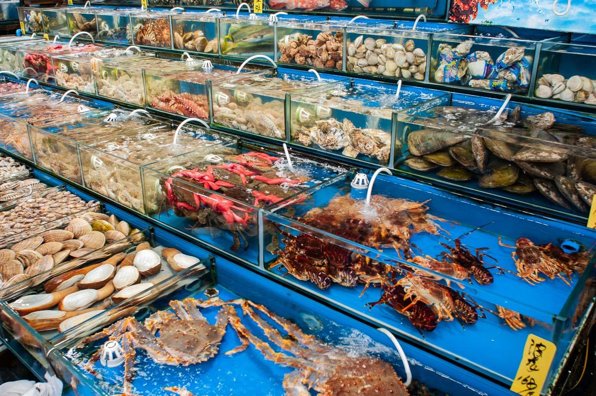 Морской рынок в Гуанчжоу