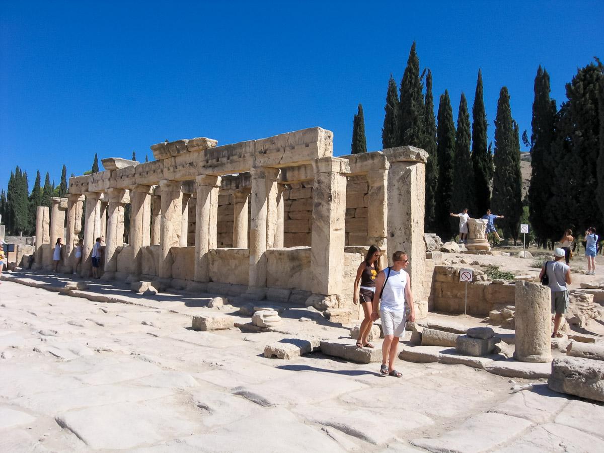 Развалины римского города