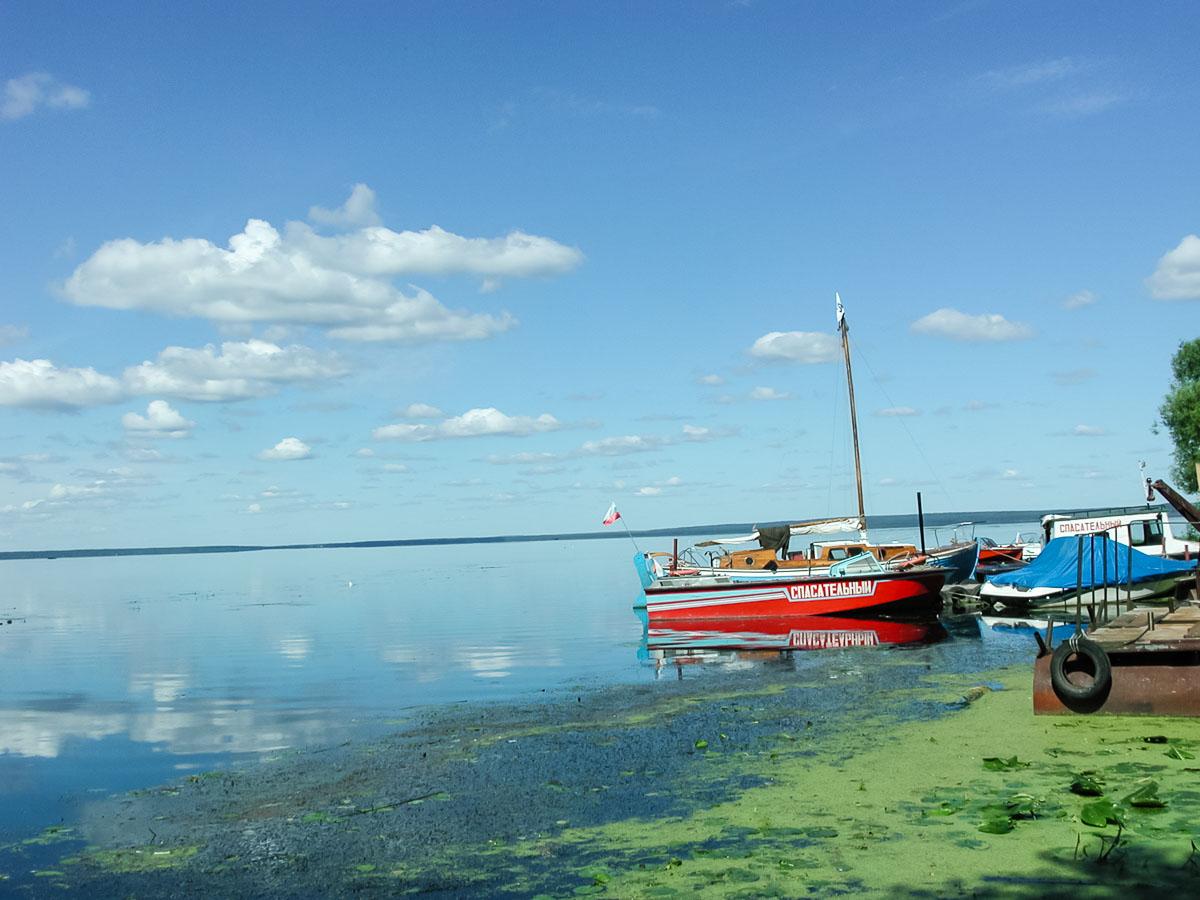 Берег Плещеева озера