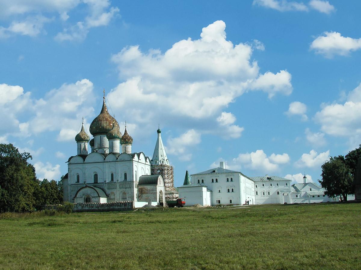 Центр Суздальского Кремля
