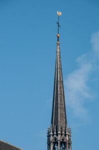 Фото шпиля церкви