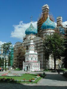 Фото Успенског собора Троице-Сергиевой лавры