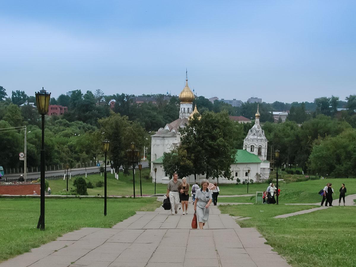 Пятницкая и Введенские церкви