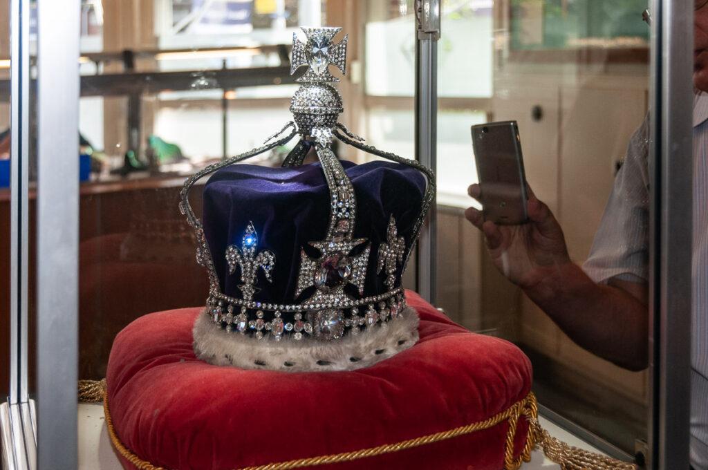 корона в музее