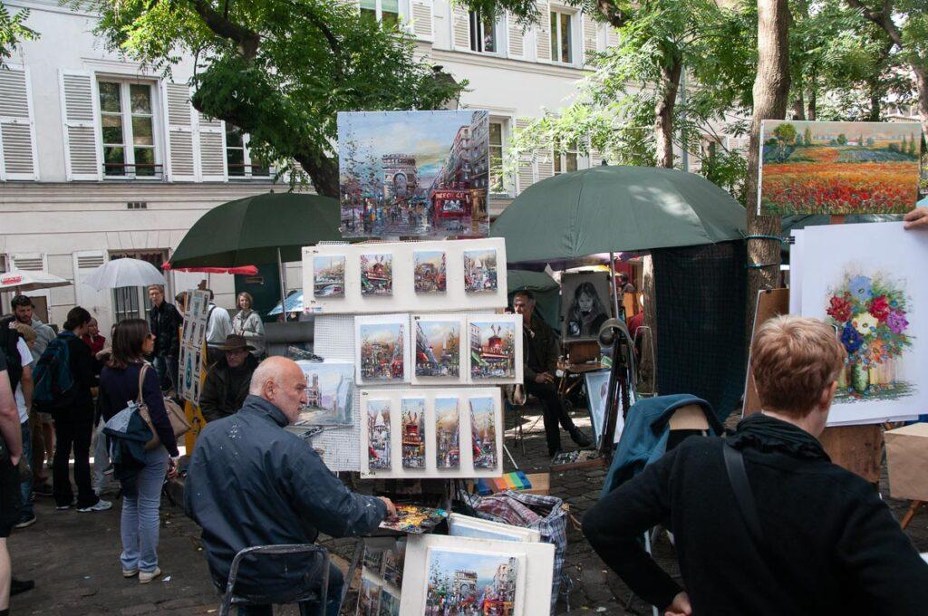 Достопримечательности Парижа. Монмартр