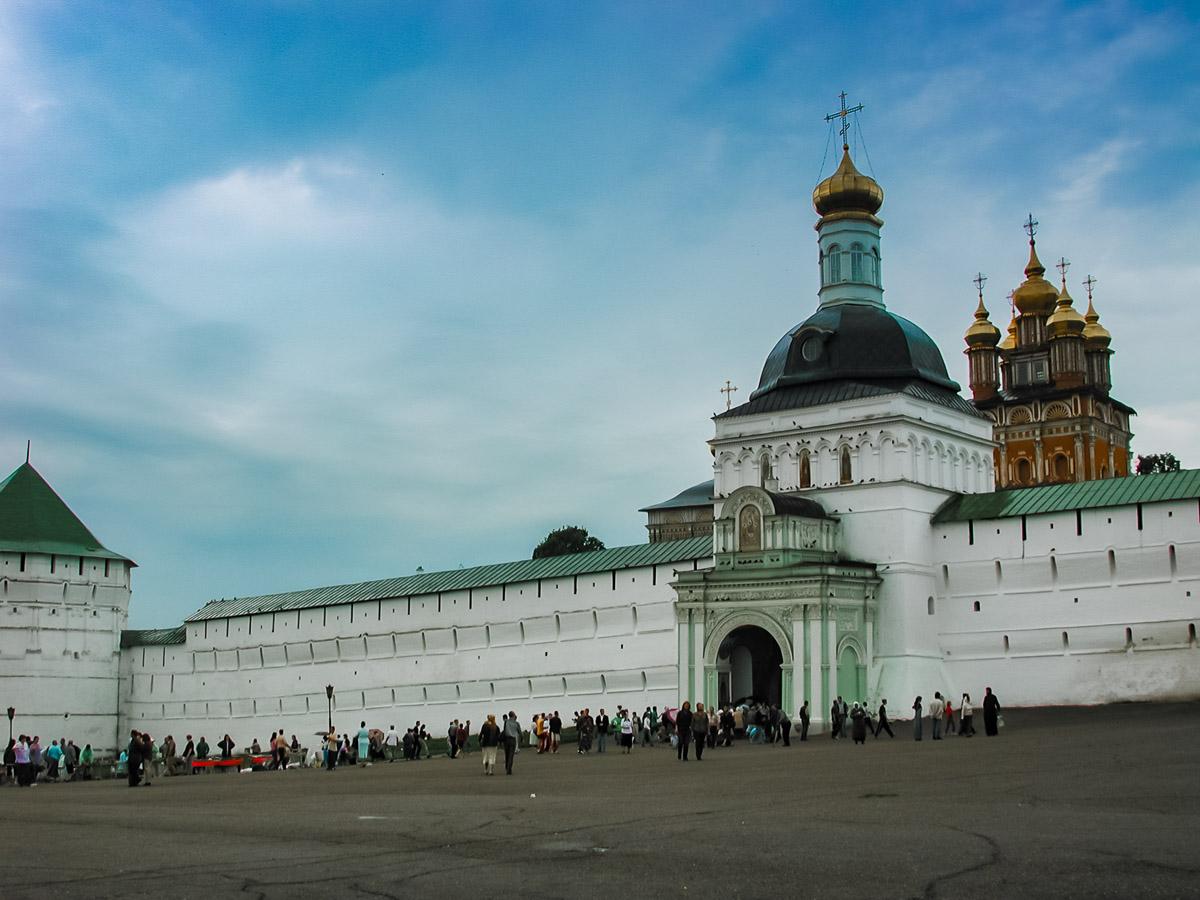 Главные ворота Сергиево-Троицкой лавры