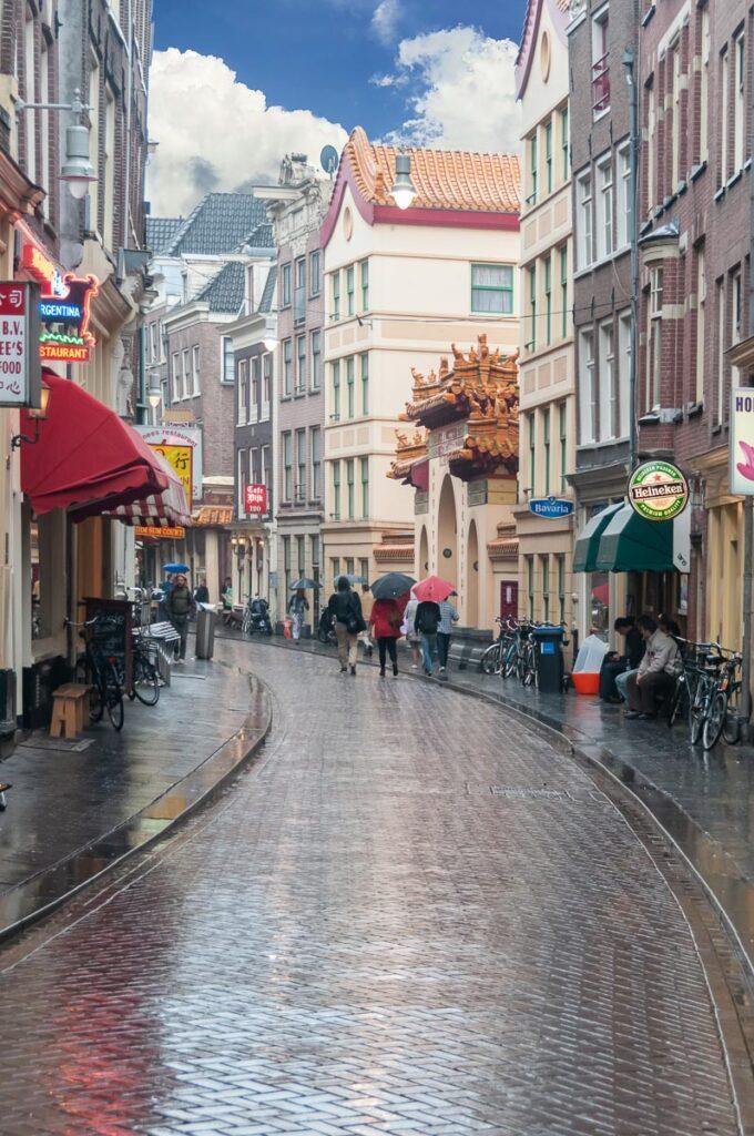Амстердам фото города. Улица