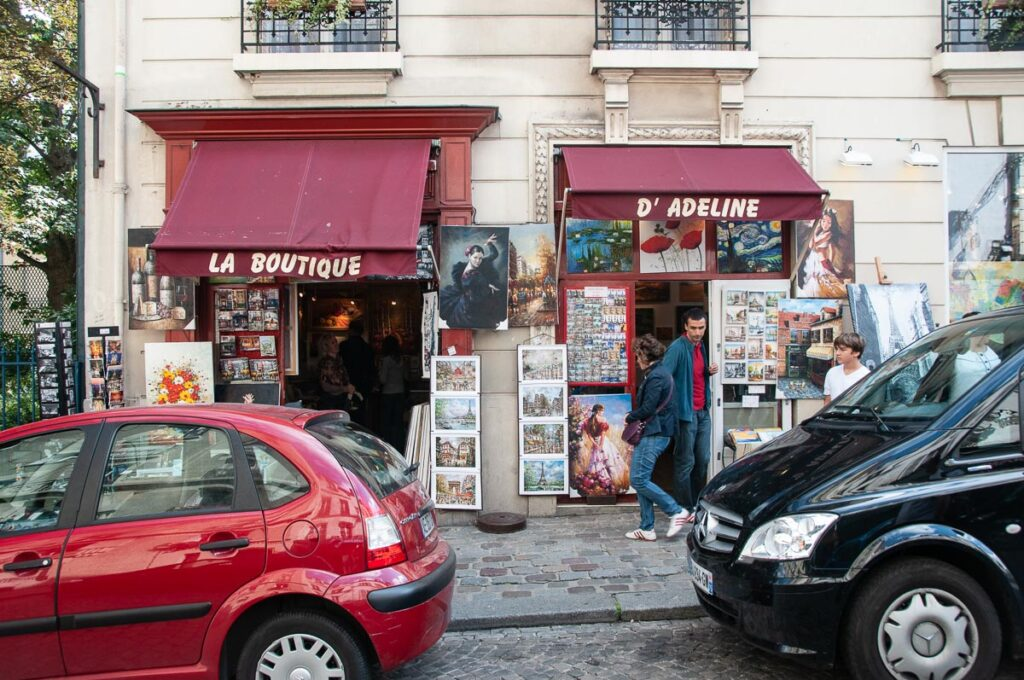 улица на Монмартре