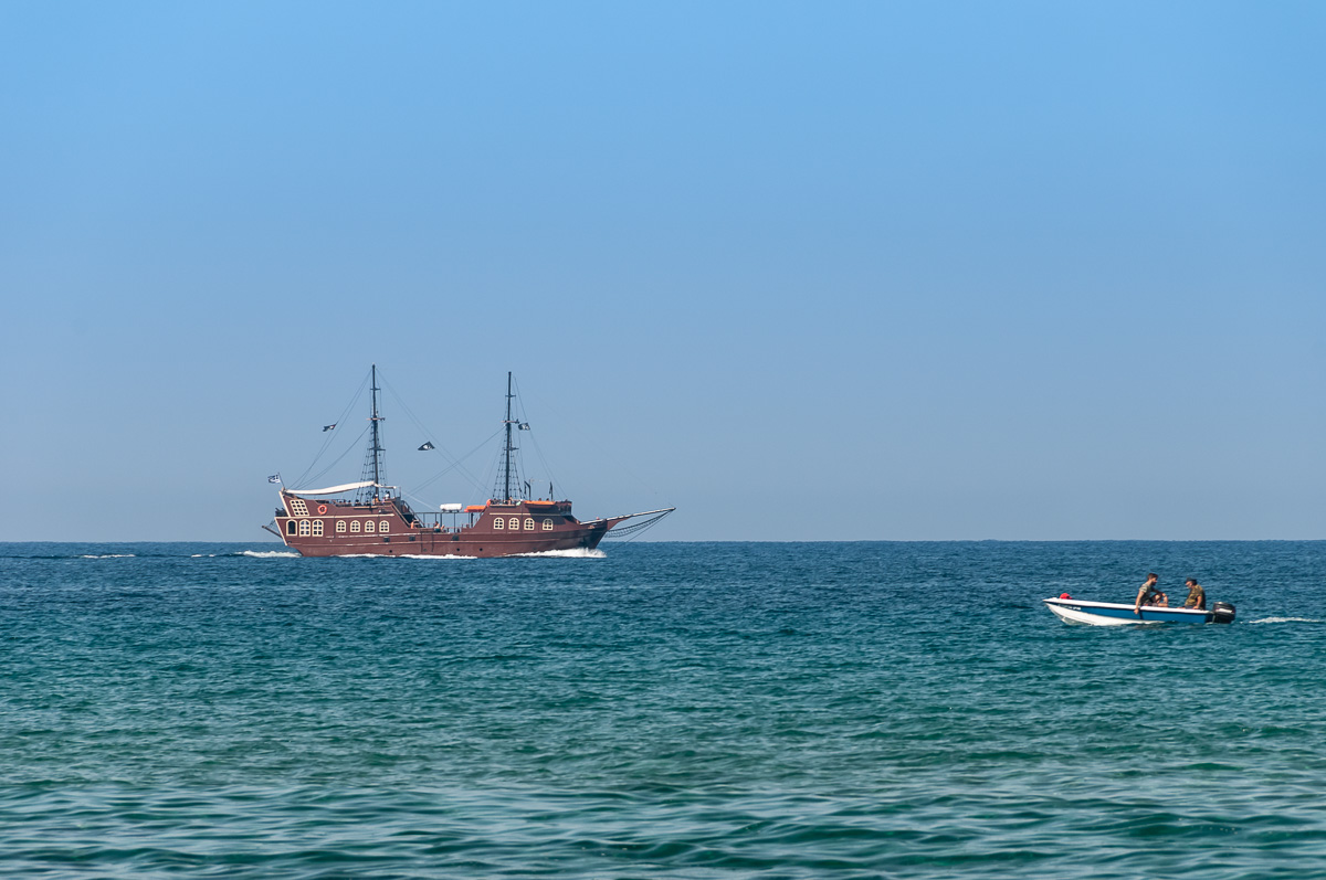 Фото острова Крит – Суда в море