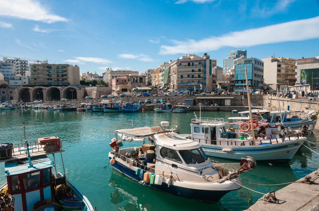 Фото острова Крит – морской порт