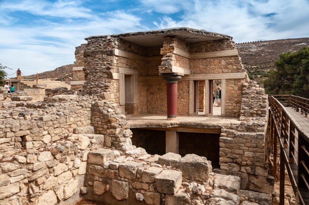 Восстановленная часть Коридора