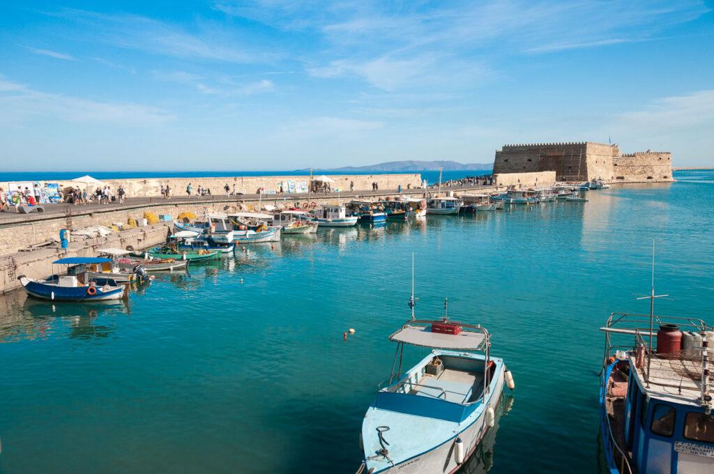 Фото острова Крит – порт